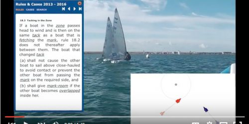 Racing Rule Of Sailing 18.3 Explained By Rushall Sailing