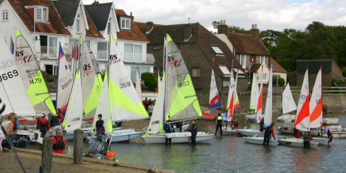 Celebrating The Sailing Club Regatta