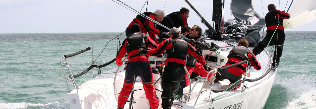 Rushall Sailing yacht racing coach